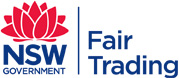 NSW Government Fair Trading logo
